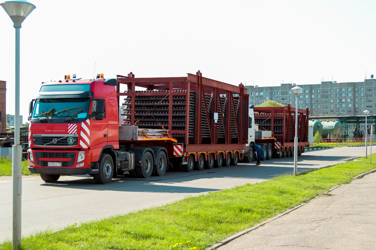 Rosatom has shipped a batch of superheaters to the UK